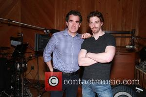 Brian d'Arcy James and Christian Borle - Recording session for 'Something Rotten' held at MSR Studios at MSR Studios, -...