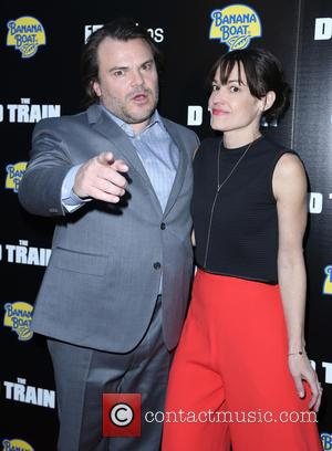 Jack Black and Tanya Haden - A variety of celebrities were snapped as they arrived for the Los Angeles Premiere...