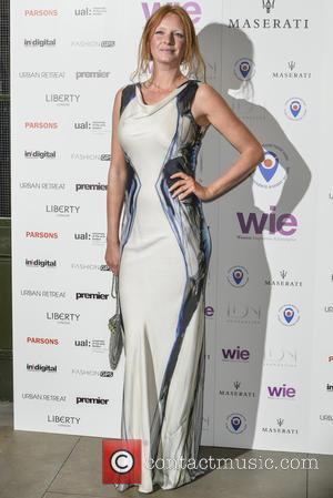 Olivia Inge - LDNY fashion show and WIE Award Gala - Arrivals - London, United Kingdom - Monday 27th April...