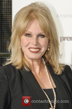 Joanna Lumley - LDNY fashion show and WIE Award Gala - Arrivals - London, United Kingdom - Monday 27th April...