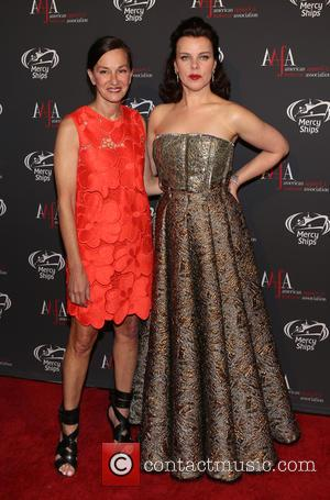 Cynthia Rowley and Debi Mazar