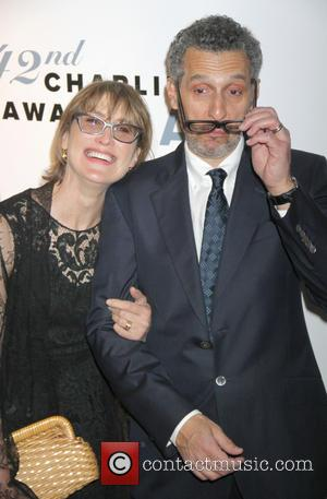 John Turturro and Katherine Borowitz