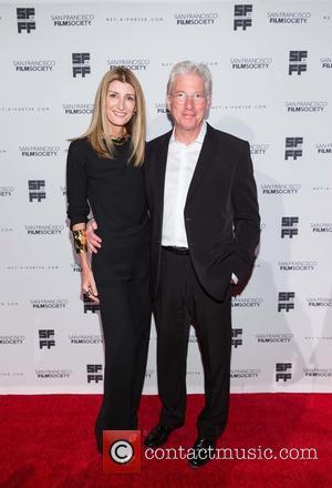 Sarah Rutson and Richard Gere
