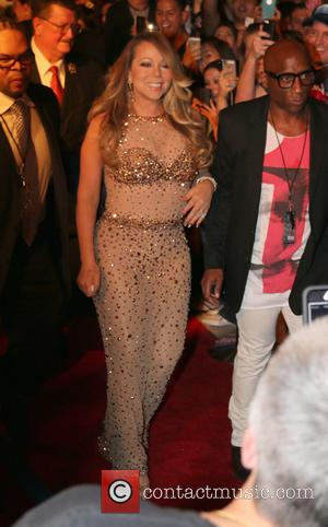 American pop superstar Mariah Carey was photographed as she made her grand arrival at Caesars Palace to celebrate her upcoming...