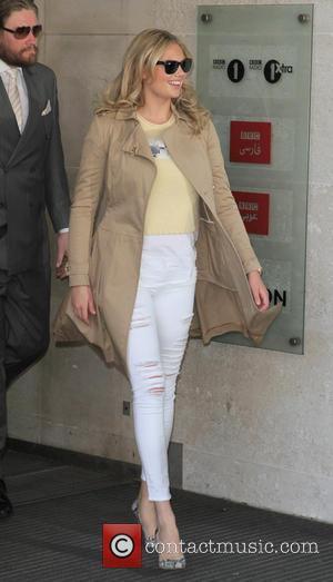 Kate Upton - Celebrities at the BBC Radio 1 studios - London, United Kingdom - Monday 27th April 2015