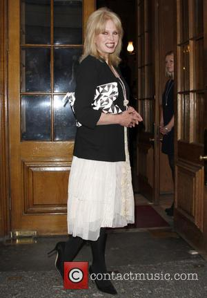 Joanna Lumley - LDNY fashion show and WIE Award Gala held at Goldsmiths Hall - Outside Arrivals at Goldsmiths Hall...