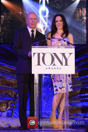 Bruce Willis and Mary-Louise Parker - 2015 Tony Awards Nominations Announcement at Tony Awards - Manhattan, New York, United States...