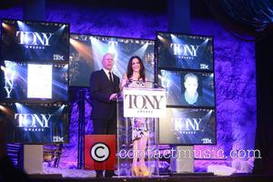 Bruce Willis and Mary-Louise Parker - 2015 Tony Award Announcements held at the Paramount Hotel. at Paramount Hotel, - New...