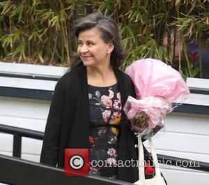 Tracey Ullman - Tracey Ullman outside ITV Studios - London, United Kingdom - Tuesday 28th April 2015