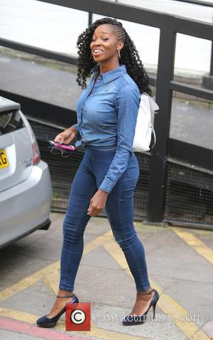 Jamelia - Jamelia outside ITV Studios today - London, United Kingdom - Tuesday 28th April 2015