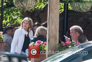 Jeremy Clarkson and Penny Smith