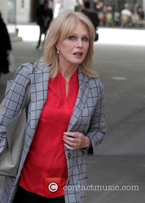 Joanna Lumley - Joanna Lumley at the BBC studios - London, United Kingdom - Tuesday 28th April 2015