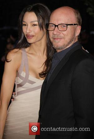 Paul Haggis and daughter