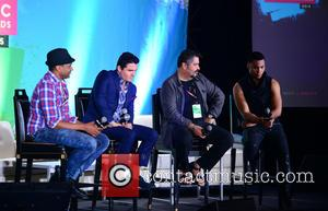 Descemer Bueno, Horacio Palencia, Glenn Monroig and Yunel Cruz - Billboard Latin Music Conference and Awards - Day 3 -...