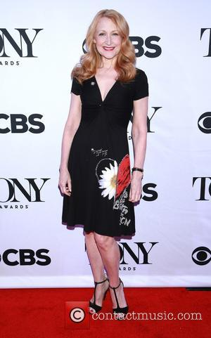 Patricia Clarkson wearing Desigual - A host of stars were photographed as they arrived for the Meet the 2015 Tony...