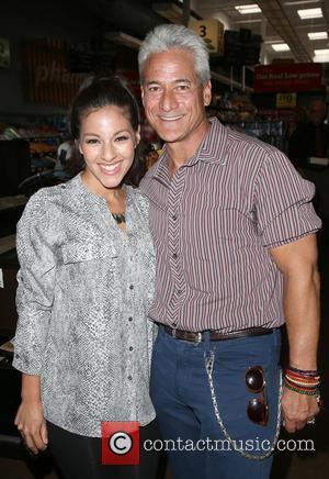Tracy Perez and Greg Louganis