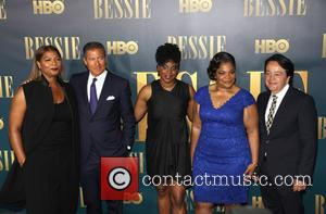 L To R, Queen Latifah, Richard Plepler, Dee Rees, Mo'nique and Len Amato