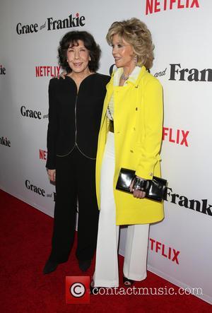 Lily Tomlin and Jane Fonda