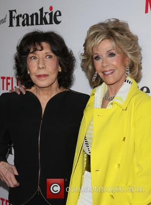 Lily Tomlin and Jane Fonda - A variety of stars were snapped as they attended the Premiere Of Netflix's 'Grace...
