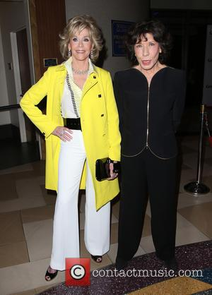 Jane Fonda and Lily Tomlin - A variety of stars were snapped as they attended the Premiere Of Netflix's 'Grace...