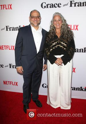 Howard J. Morris and Marta Kauffman - A variety of stars were snapped as they attended the Premiere Of Netflix's...