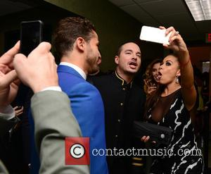 J Balvin - 2015 Billboard Latin Music Awards presented by State Farm on Telemundo at the BankUnited Center - Inside...