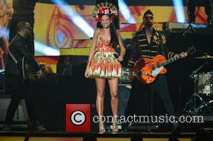 Natalia Jimenez - 2015 Billboard Latin Music Awards presented by State Farm on Telemundo - Show at BankUnited Center -...