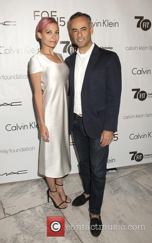 Nicole Richie and Francisco Costa