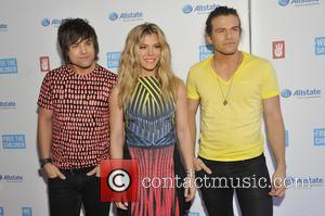 The Band Perry - A host of stars were photographed as they arrived to the 2015 We Day which was...