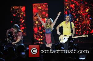 The Band Perry - A variety of stars performed at the 2015 We Day held which was held at the...