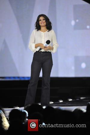 Selena Gomez - A variety of stars performed at the 2015 We Day held which was held at the Allstate...