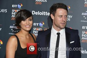 Frankie Sandford and Wayne Bridge - Celebrities attends the BT Sports Industry Awards at Battersea Evolution in London at Evolution...