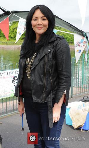 Martine McCutcheon - Martine McCutcheon launches The Big Bike Revival at Platt Fields Park Bike Hub. The Big Bike Revival...