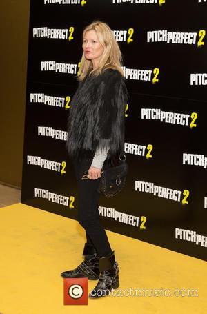 Kate Moss - VIP screening of 'Pitch Perfect 2'  at May Fair Hotel - Arrivals at Mayfair Hotel -...