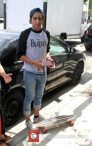 Tony Revolori - The Grand Budapest Hotel actor, Tony Revolori out and about in Hollywood with his skateboard - Los...