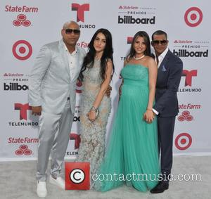 Gente de Zona - A variety of stars were snapped as they attended the 2015 Billboard Latin Music Awards which...