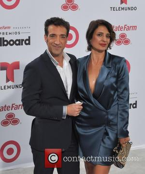 Alberto Mateo and Paulina Galvez - A variety of stars were snapped as they attended the 2015 Billboard Latin Music...