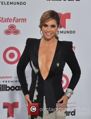 Lucero - A variety of stars were snapped as they attended the 2015 Billboard Latin Music Awards which were held...
