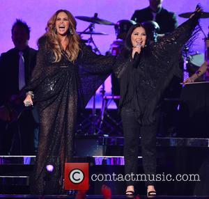 Lucero and Ana Gabriel - 2015 Billboard Latin Music Awards presented by State Farm on Telemundo - Show at BankUnited...