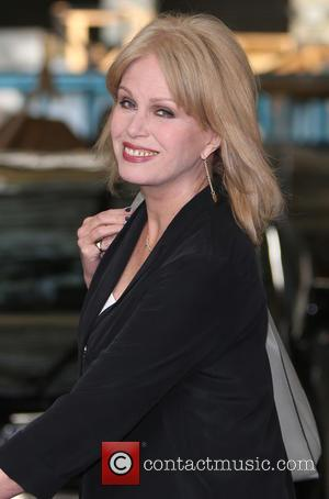 Joanna Lumley - Joanna Lumley outside ITV Studios - London, United Kingdom - Thursday 30th April 2015