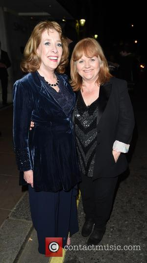 Sophie Mcshera and Lesley Nicol