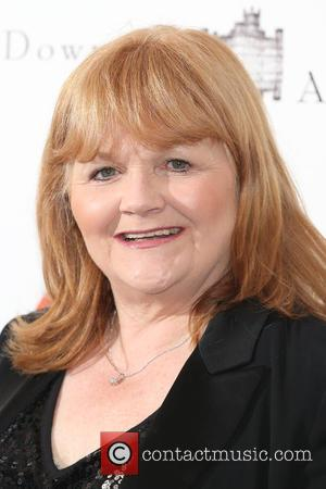Lesley Nicol - The Downton Abbey Ball, in aid of Centrepoint, held at the Savoy - Arrivals - London, United...
