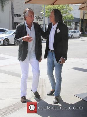 George Hamilton - George Hamilton spotted leaving Celestino Drago after lunch - Los Angeles, California, United States - Friday 1st...