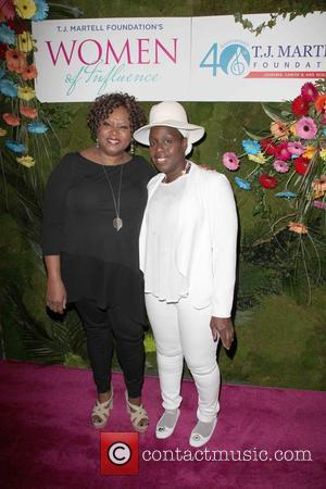 Robin Quivers and Andrea Martin