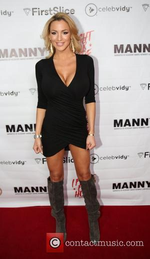 Jordan Carver - The 'Manny' Viewing Party at Beacher's Madhouse hosted by FirstSlice.com at beachers madhouse - Las Vegas, Nevada,...