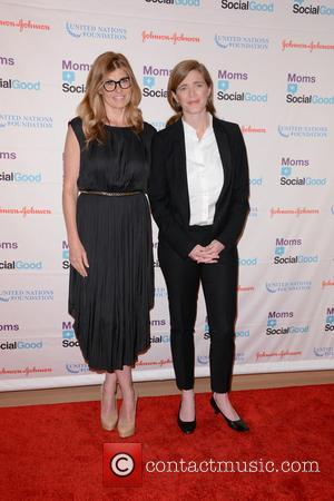 Connie Britton and Samantha Power