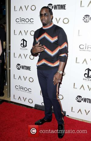 Sean Combs - Puff Daddy hosts Fight Weekend Bash at LAVO inside The Palazzo Resort Hotel Casino Las Vegas at...