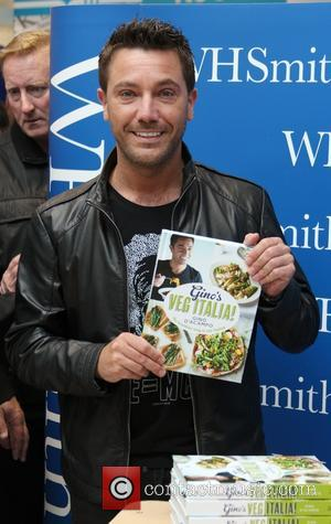 Gino D Acampo - Celebrity chef Gino D'Acampo signs copies of his new book 'Gino's Veg Italia!: 100 Quick and...