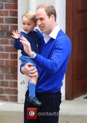 Prince William, Duke Of Cambridge and Prince George