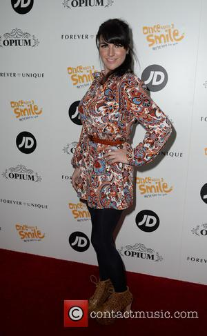Laura Norton - Once Upon A Smile Grand Ball 2015 at The Hilton Hotel, Manchester - Arrivals - Manchester, United...